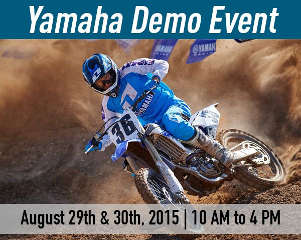 Yamaha Demo Event